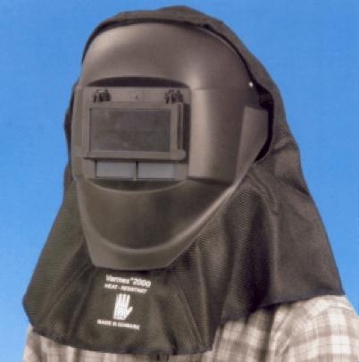 Stefan Löfven i arbetsutrustning