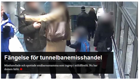 tunnelbanemisshandel