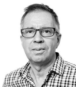 Gunnar Svensson, chefredaktör på socialdemokratiska Sydöstran