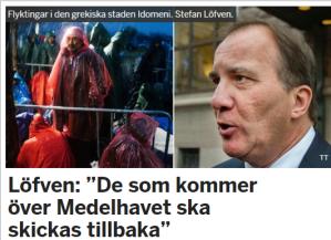Stefan Löfven tillbaka