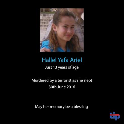 israel mord 13-åring 2