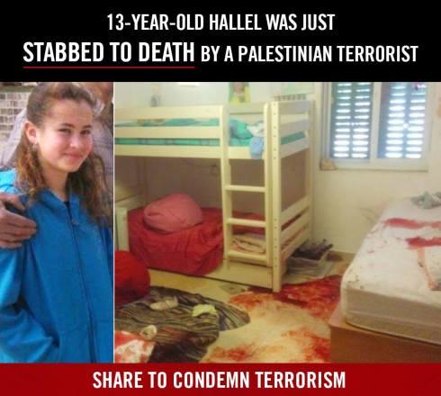 Israel mord 13-åring