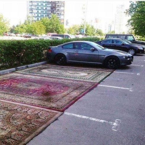 persisk parkering