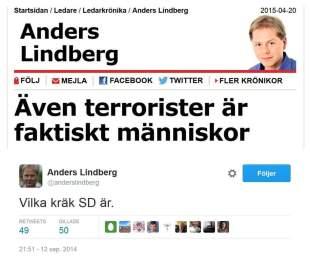 Anders Lindberg terrorister