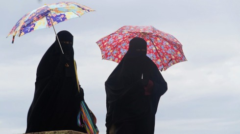burka-paraply