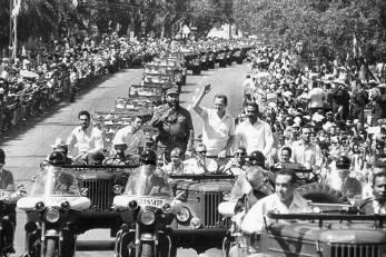Palme och Castro på Kuba