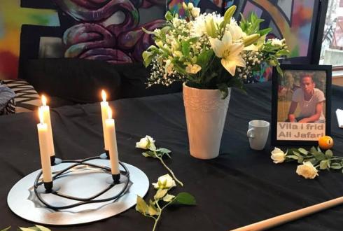 Ali Jafari, mördad i Sverige