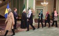 Sveriges regering på statsbesök i Iran.