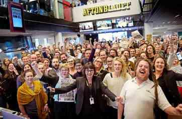 Aftonbladet redaktion jublar över bristen på mångfald.