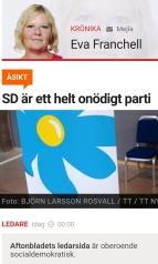 Aftonbladet onödig