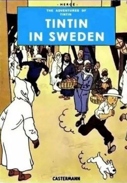 Tintin in sweden