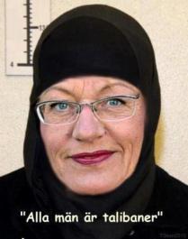 Gudrun Schyman talibaner