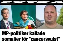 Pettersson är osäker på om det är somalier eller cancersvulster på bilden