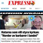 Expressen hatar