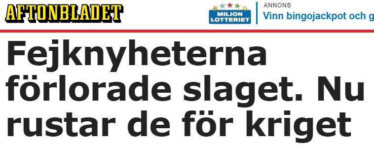 Sverige rustar mot nathotet