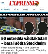 Expressen många mord