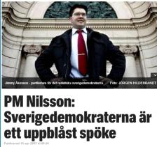 De flesta ser med egna ögon att svensk ekonomi har vidgats av invandringen. skrev PM Nilsson i