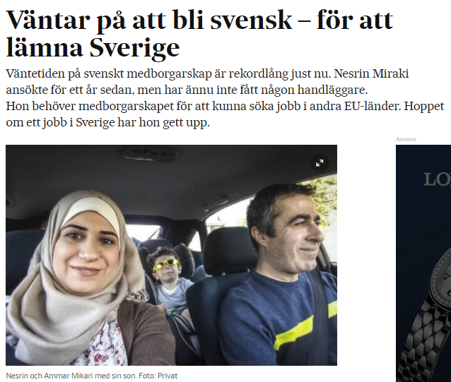 hur kan man bli svensk medborgare