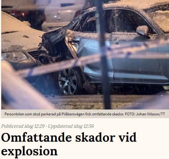 Minst 50 skadade av bilbomb