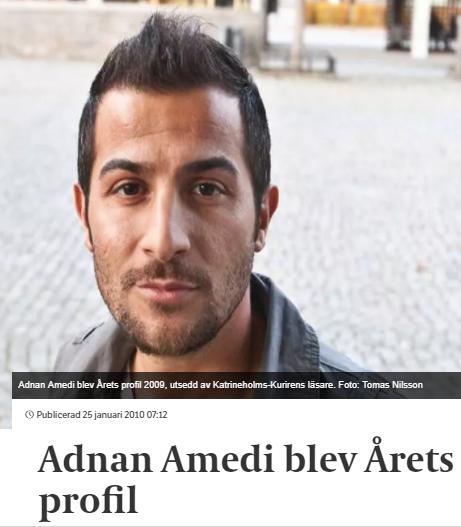 Adnan Amedi Profil 490 Utpressning