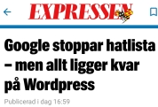 Expressen Wordpress