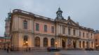Börshuset invigdes 1776 av Gustav III. Idag är Svenska Akademien och Nobelmuseet inrymt i byggnaden.