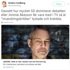 Anders_Lindberg_Twitter_om_Hitler