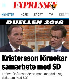 Expressen kristersson