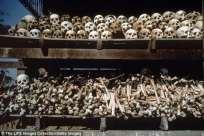 Kambodja dödskallar