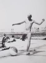Pettersson på stranden 1971
