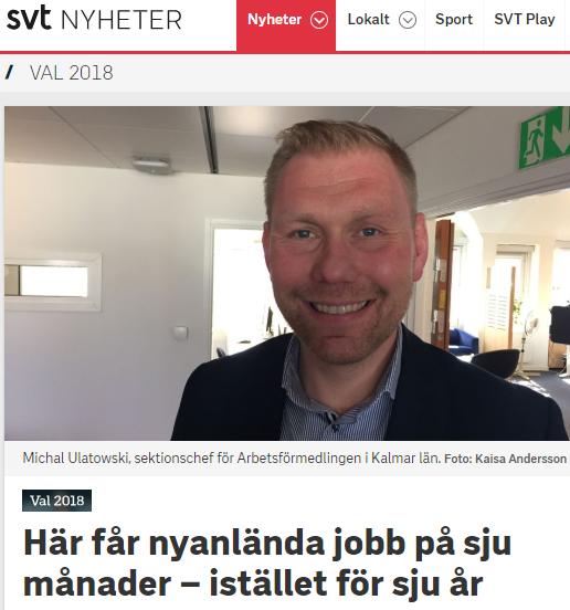 Nyanlända får jobb på sju månader ljuger SVT  933e05ea9fdc2