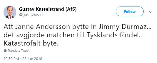 Landslagsstjarna infor ratta svensken helt friad