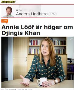Anders_Lindberg_Annie_Lööf_Djingis_Khan