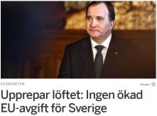 Märkligt, statsminister Löfven
