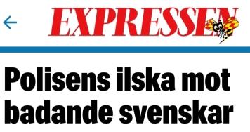 Expressen ilska mot svenska