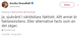 Annika_Strandhäll_sjukvård_i_världsklass