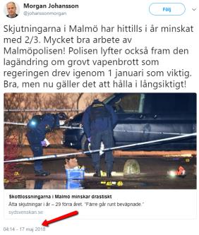 Morgan_Johansson_Twitter_skjutningar_Malmö2