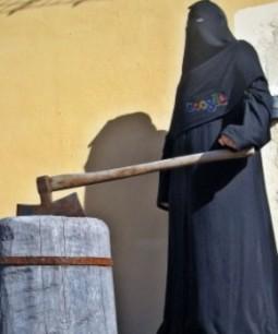 Niqab bödel2