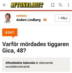 Anders Lindberg mord på tiggare