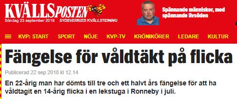 513f602c1f42 Arab får fängelse för våldtäkt på flicka | Petterssons gör Sverige ...