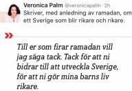 Veronica Palm Ramadan