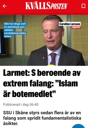 Expressen islam plus ssu