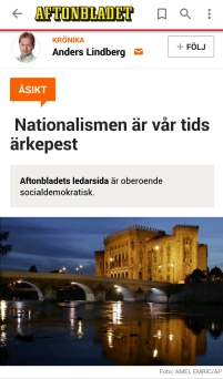 Anders Lindberg Nationalism
