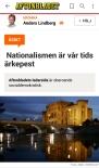 Anders Lindberg Nationalism