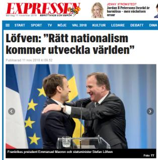 Epressen_Stefan_Löfven_nationalist
