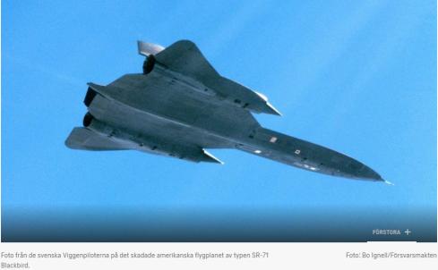 När svenskt stridsflyg räddade amerikansk spionplan  36ef814a4f051