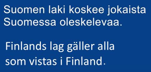 finlands lag