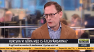 Oisín Cantwell tycker förslag om indragna medborgarskap är värdelösa, men han jobbar på Aftonbladet.
