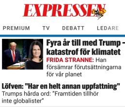 Expressen klimat Trump