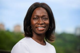 Nyamko Sabuni, pressbild Liberalerna